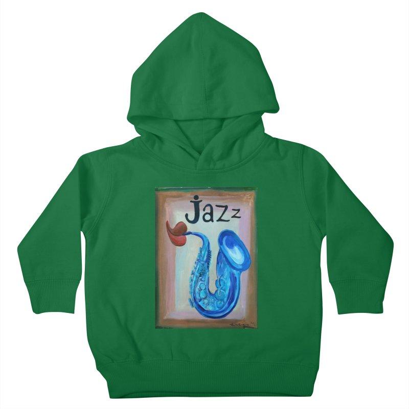 jazz 4 Kids Toddler Pullover Hoody by diegomanuel's Artist Shop