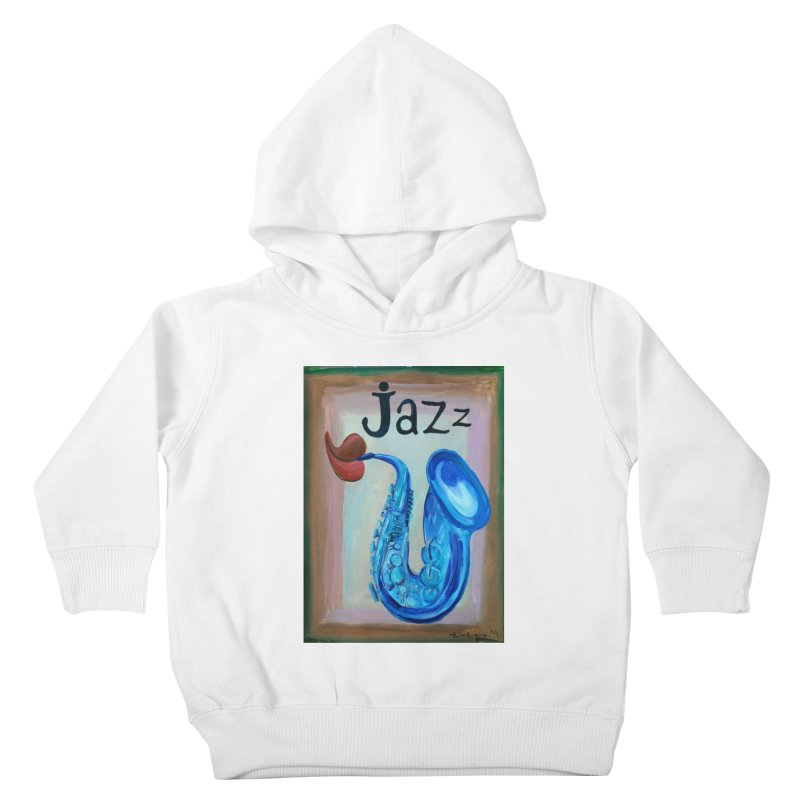 jazz 4 Kids Toddler Pullover Hoody by diegomanuel's Artist Shop