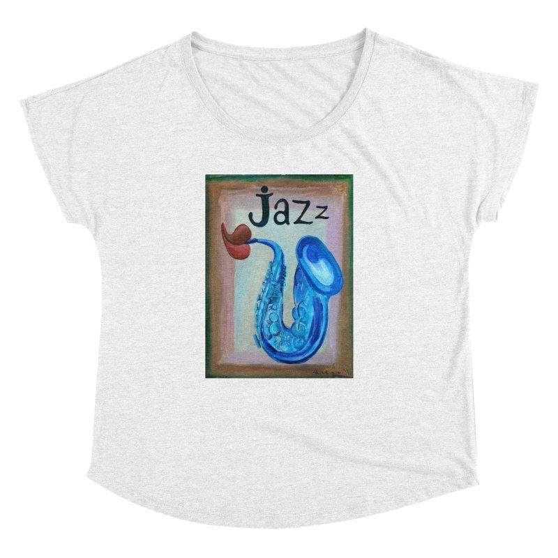 jazz 4 Women's Dolman by diegomanuel's Artist Shop