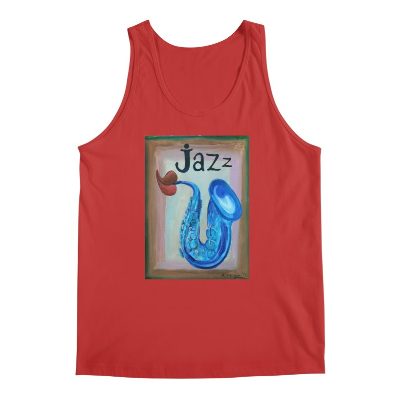 jazz 4 Men's Tank by diegomanuel's Artist Shop