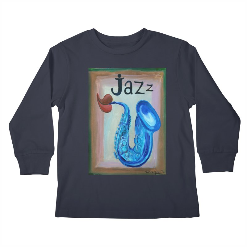 jazz 4 Kids Longsleeve T-Shirt by diegomanuel's Artist Shop