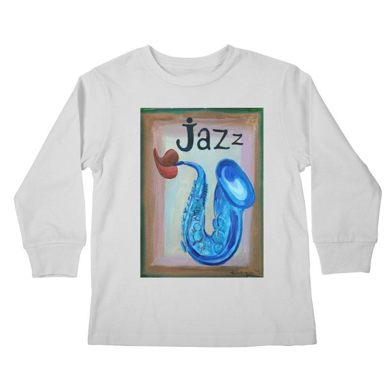 jazz 4 Kids Longsleeve T-Shirt by diegomanuel's Artist Shop