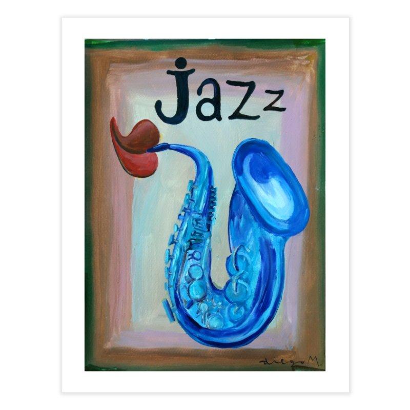 jazz 4 Home Fine Art Print by diegomanuel's Artist Shop