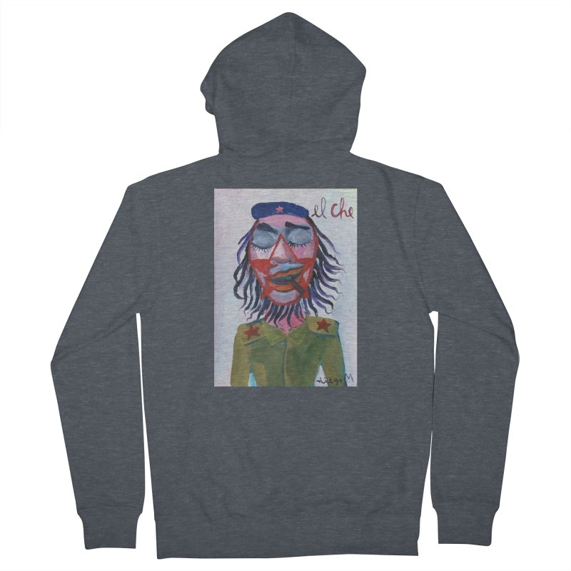 Che Guevara 3 Men's Zip-Up Hoody by diegomanuel's Artist Shop
