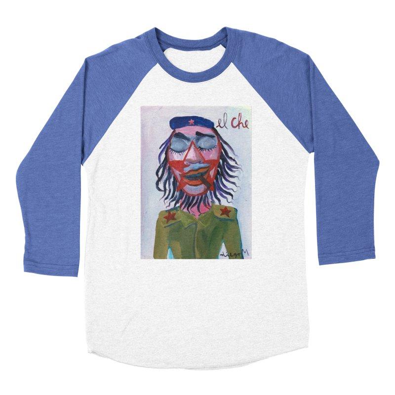 Che Guevara 3 Men's Baseball Triblend T-Shirt by diegomanuel's Artist Shop
