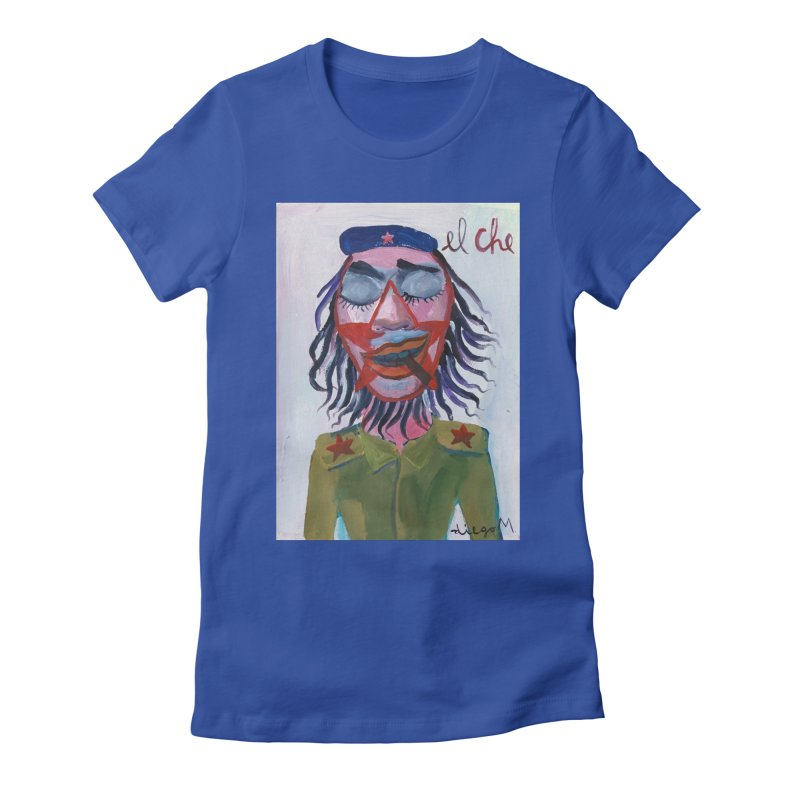 Che Guevara 3 Women's Fitted T-Shirt by diegomanuel's Artist Shop