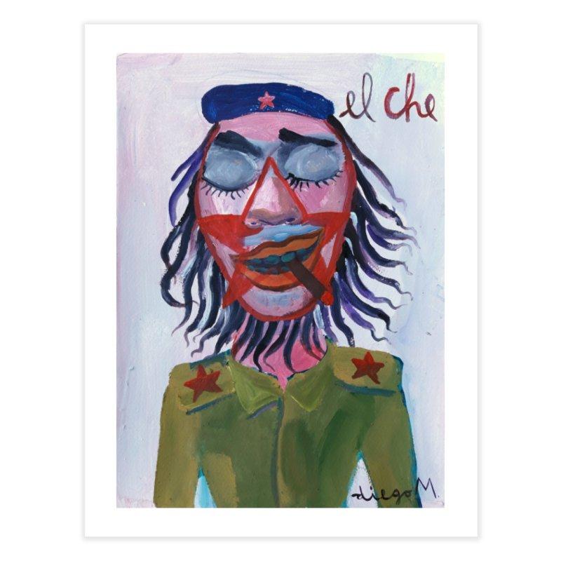 Che Guevara 3 Home Fine Art Print by diegomanuel's Artist Shop