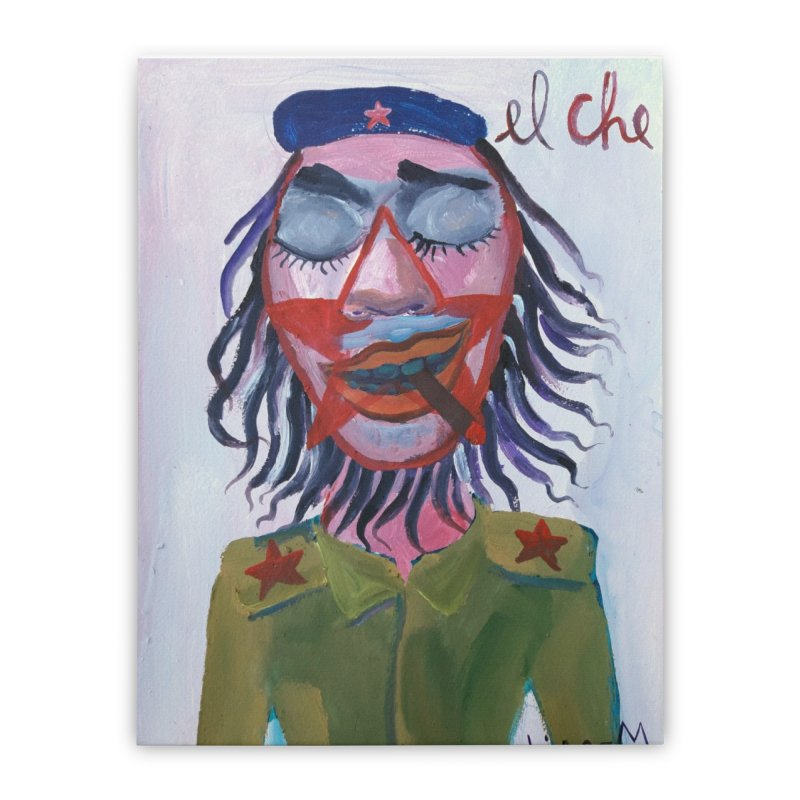 Che Guevara 3 Home Stretched Canvas by diegomanuel's Artist Shop