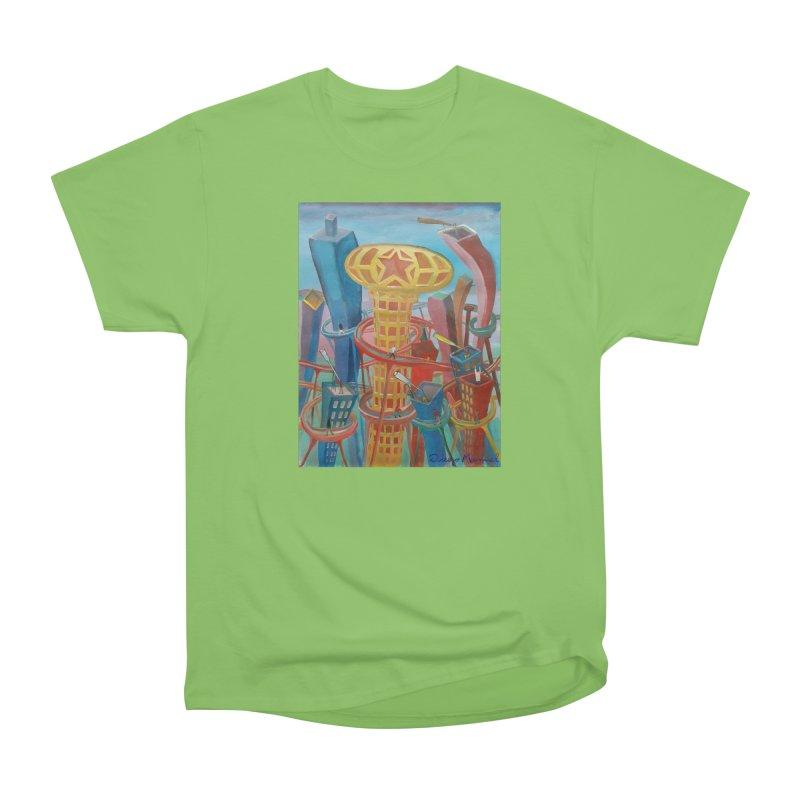 Ciudad 2 Women's Heavyweight Unisex T-Shirt by diegomanuel's Artist Shop