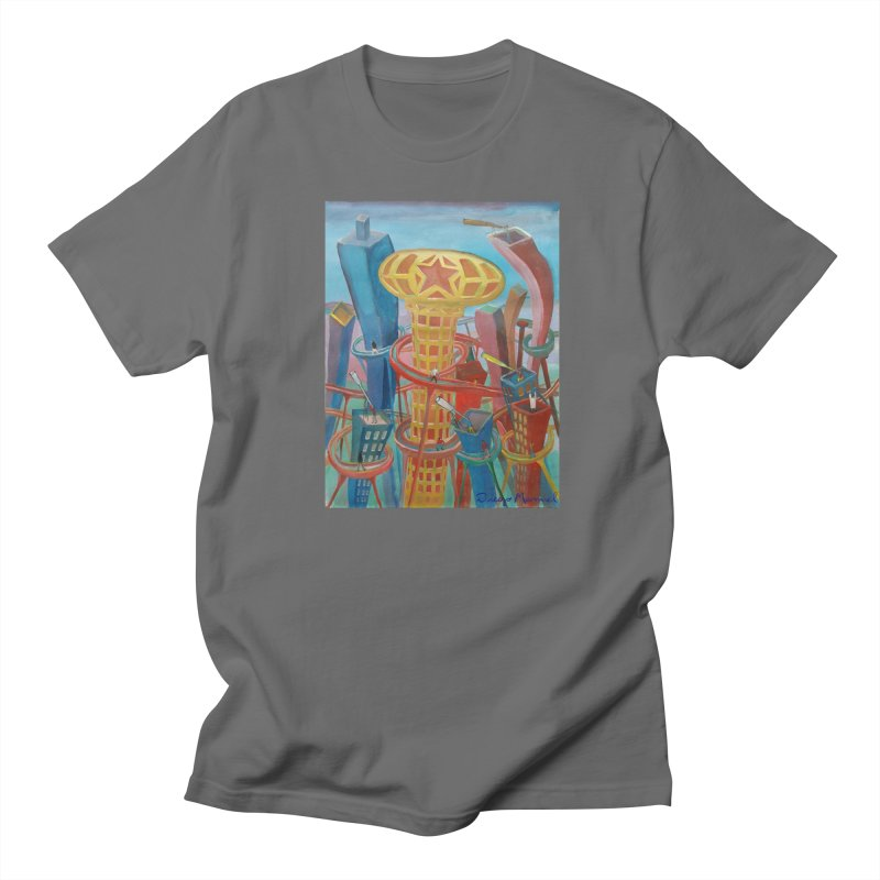 Ciudad 2 Men's T-Shirt by Diego Manuel Rodriguez Artist Shop