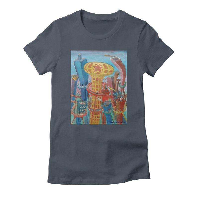 Ciudad 2 Women's T-Shirt by Diego Manuel Rodriguez Artist Shop