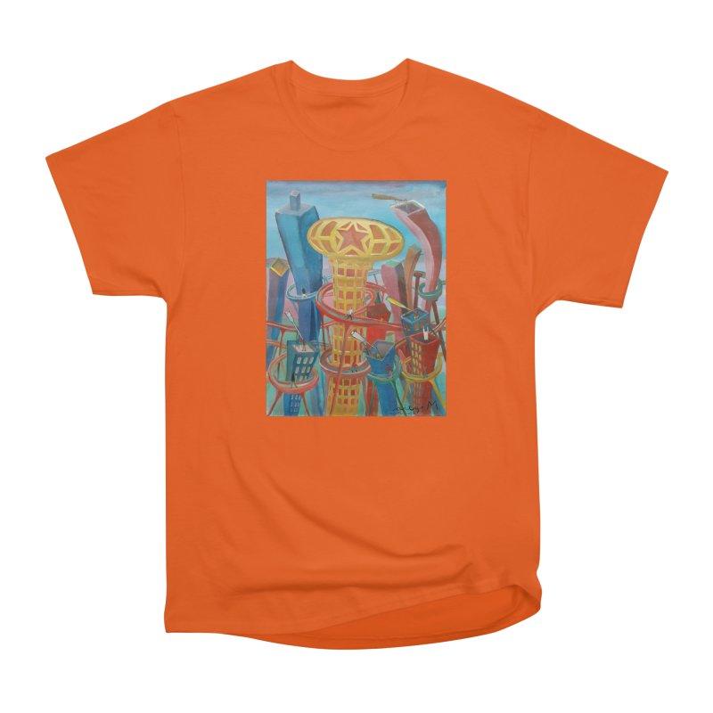 Ciudad 2 Women's Classic Unisex T-Shirt by diegomanuel's Artist Shop