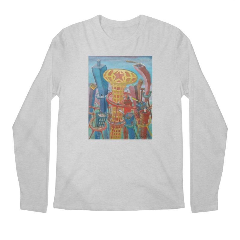 Ciudad 2 Men's Longsleeve T-Shirt by diegomanuel's Artist Shop