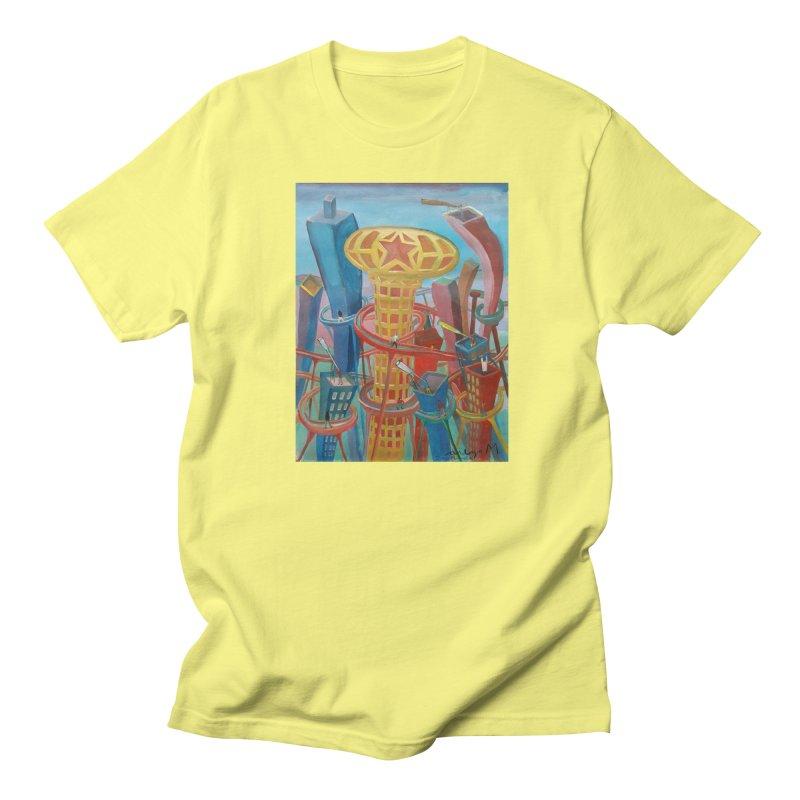 Ciudad 2 Men's T-shirt by diegomanuel's Artist Shop