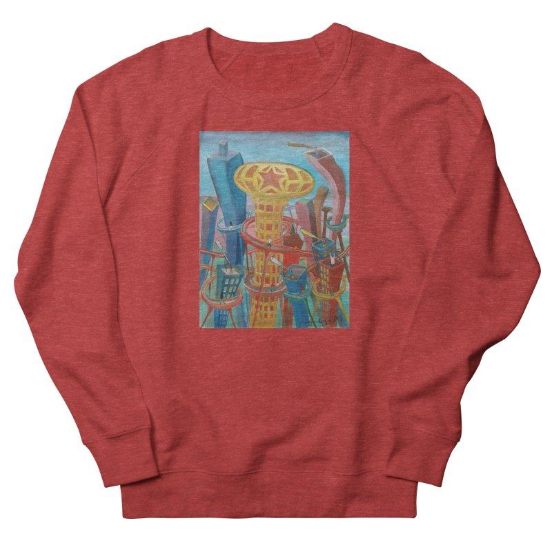 Ciudad 2 Men's Sweatshirt by diegomanuel's Artist Shop