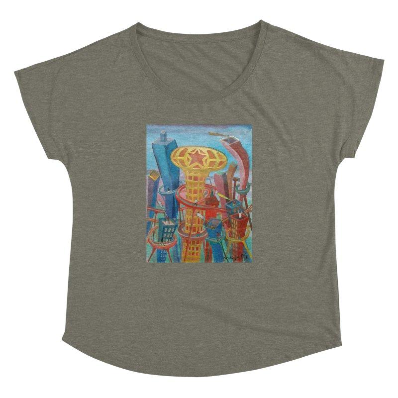 Ciudad 2 Women's Dolman by diegomanuel's Artist Shop