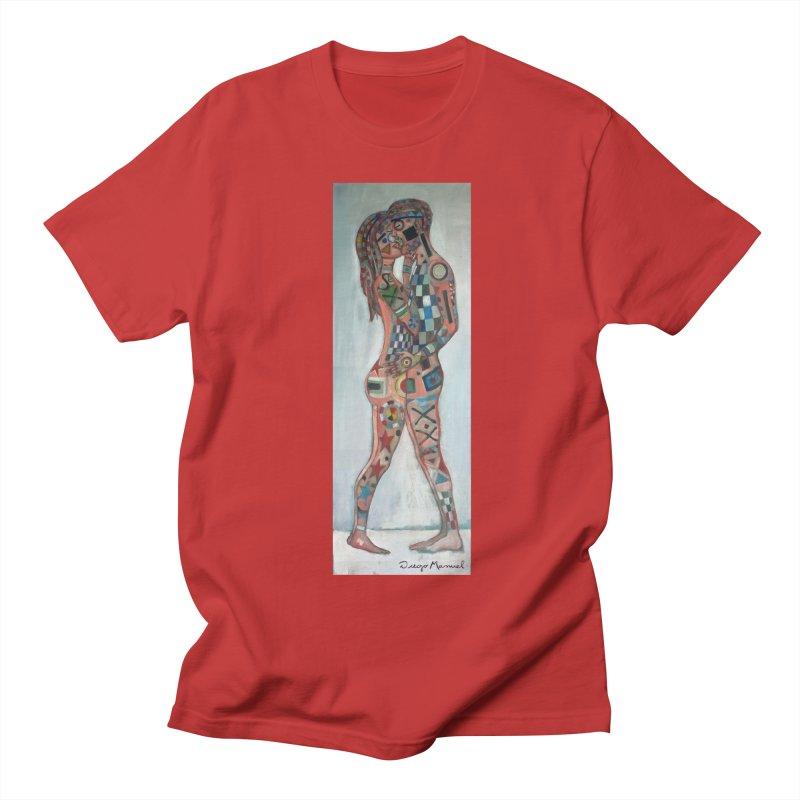 Amantes tatuados Women's Unisex T-Shirt by diegomanuel's Artist Shop