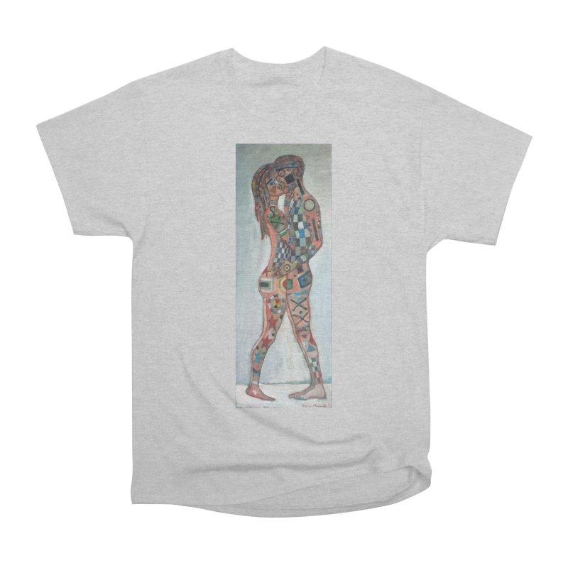 Amantes tatuados Women's Classic Unisex T-Shirt by diegomanuel's Artist Shop