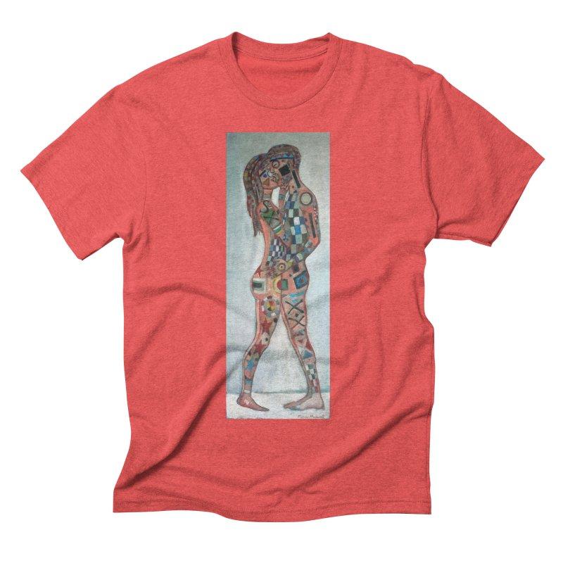Amantes tatuados Men's Triblend T-Shirt by diegomanuel's Artist Shop