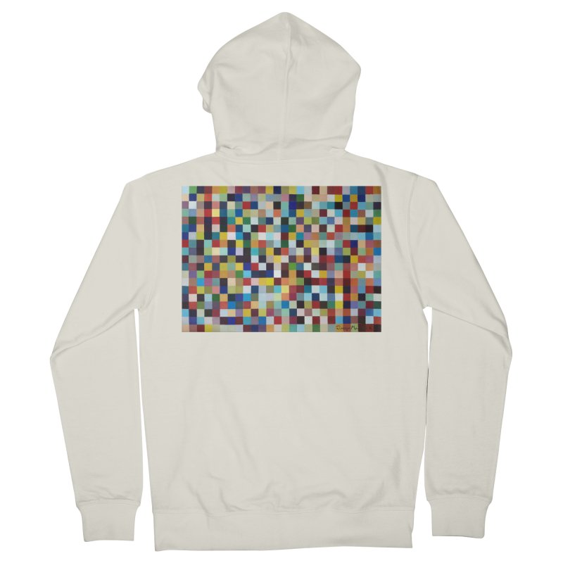Composición cromática Men's Zip-Up Hoody by diegomanuel's Artist Shop