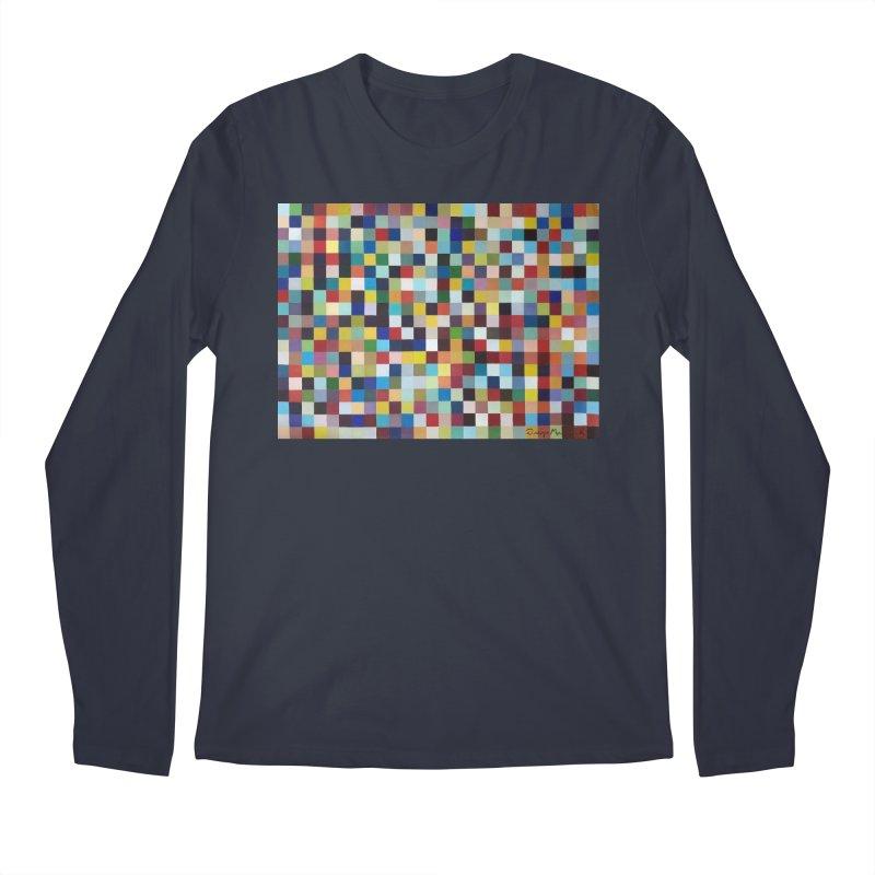 Composición cromática Men's Longsleeve T-Shirt by diegomanuel's Artist Shop