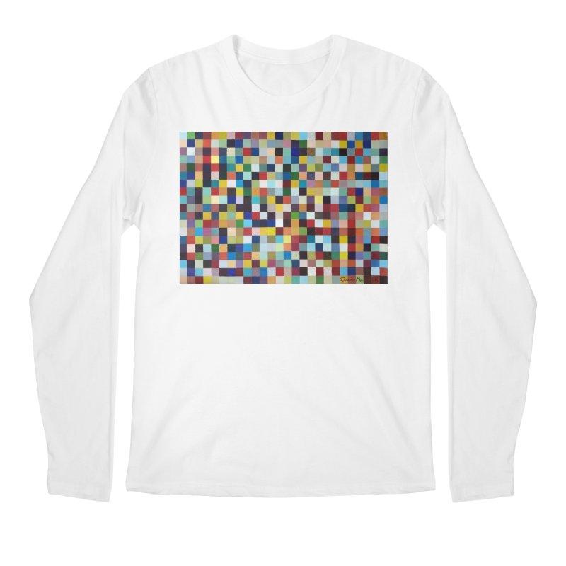 Composición cromática Men's Regular Longsleeve T-Shirt by diegomanuel's Artist Shop