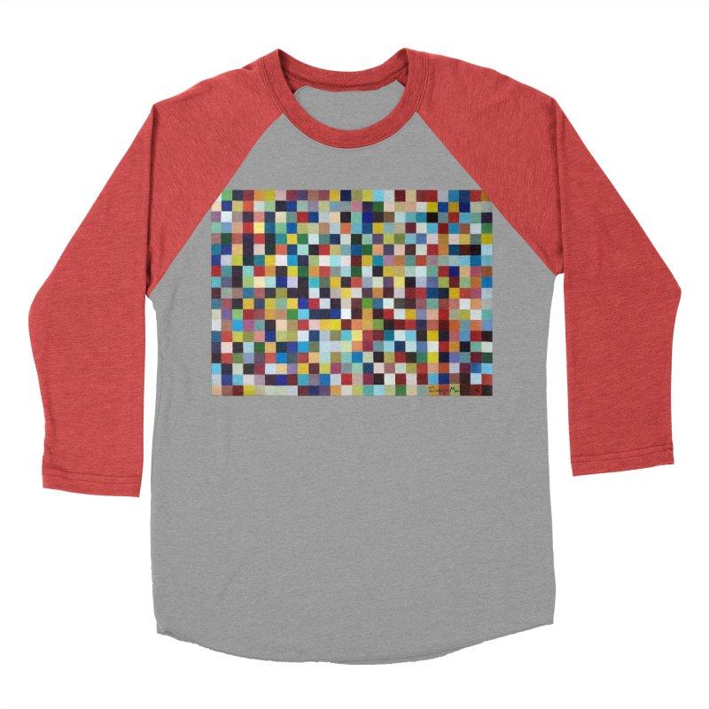 Composición cromática Women's Baseball Triblend T-Shirt by diegomanuel's Artist Shop