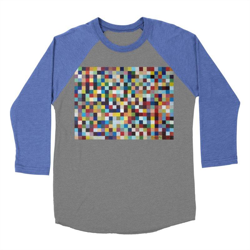 Composición cromática Men's Baseball Triblend T-Shirt by diegomanuel's Artist Shop