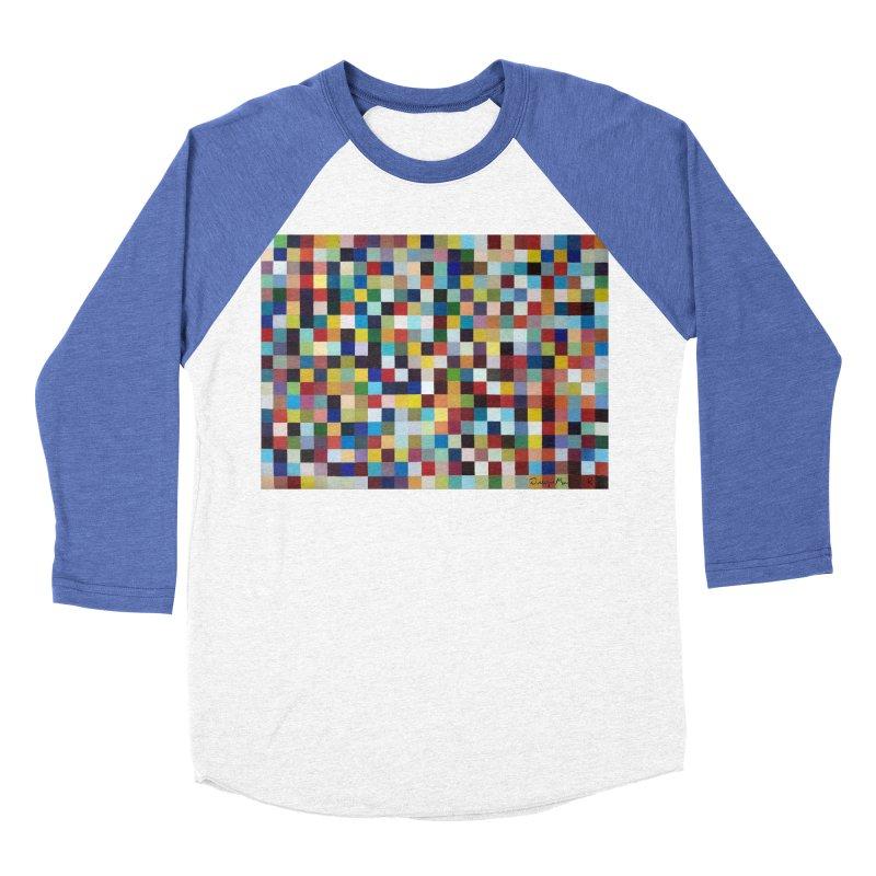 Composición cromática Men's Baseball Triblend Longsleeve T-Shirt by diegomanuel's Artist Shop