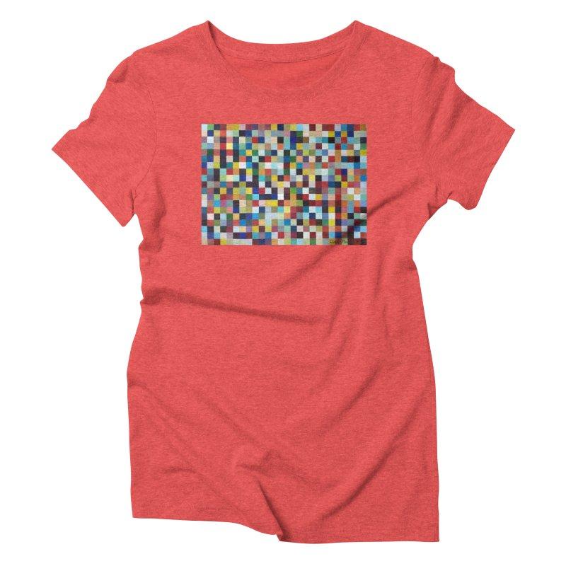 Composición cromática Women's Triblend T-Shirt by diegomanuel's Artist Shop