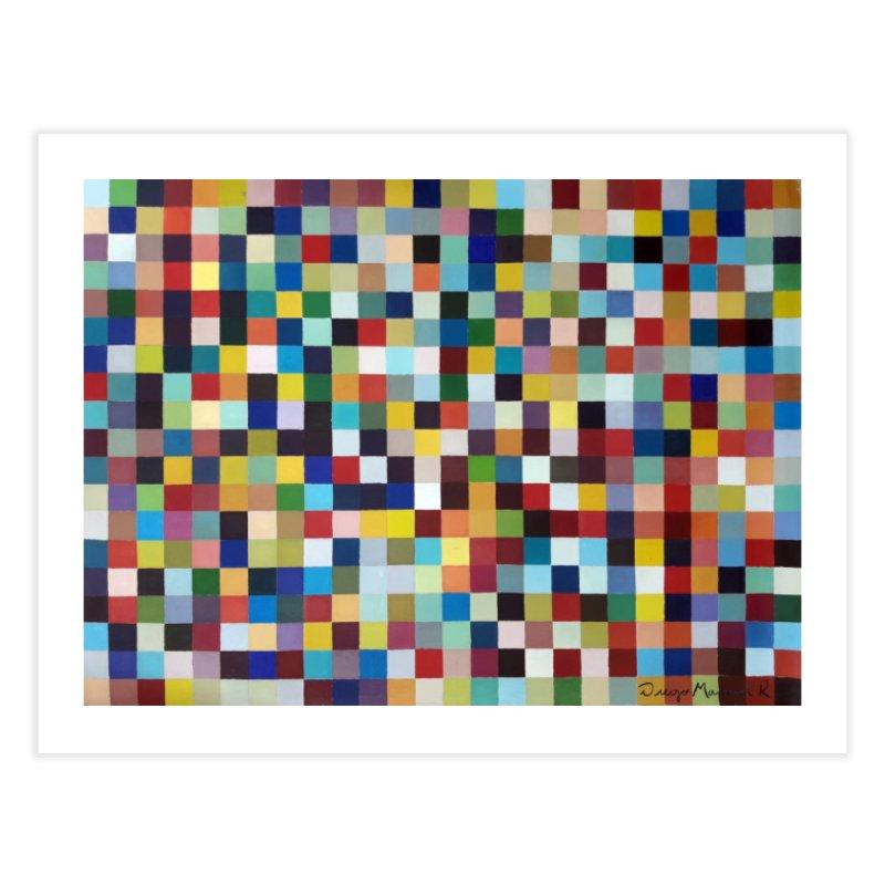 Composición cromática Home Fine Art Print by diegomanuel's Artist Shop