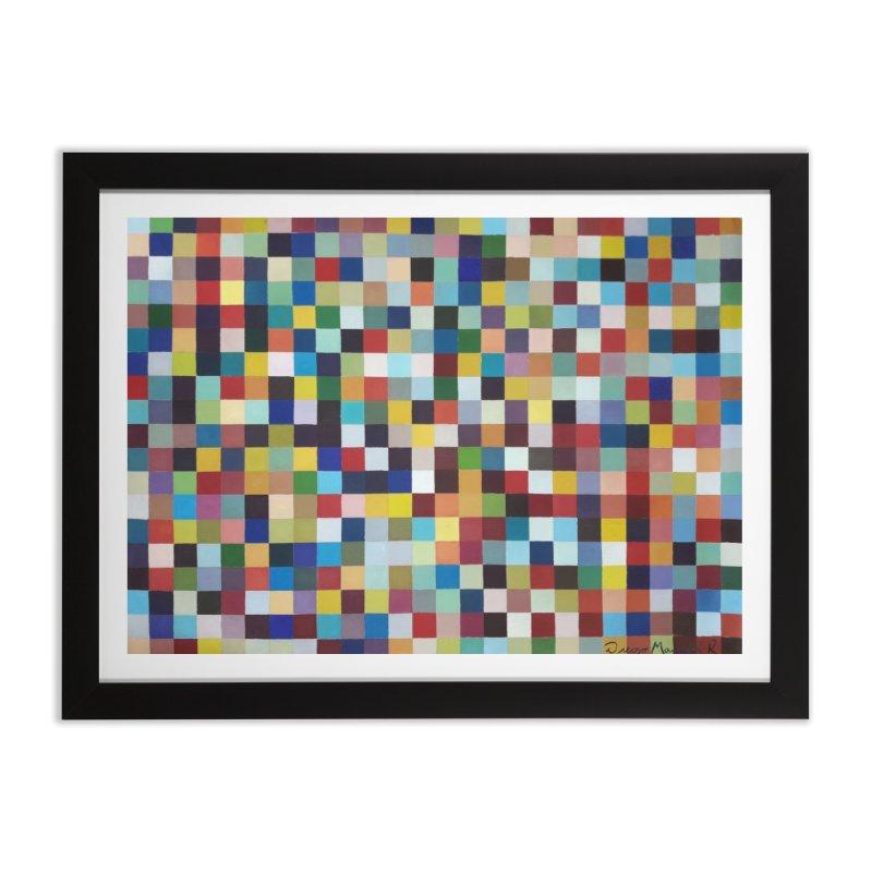 Composición cromática Home Framed Fine Art Print by diegomanuel's Artist Shop