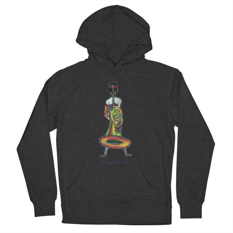 El trompetista Men's Pullover Hoody by diegomanuel's Artist Shop