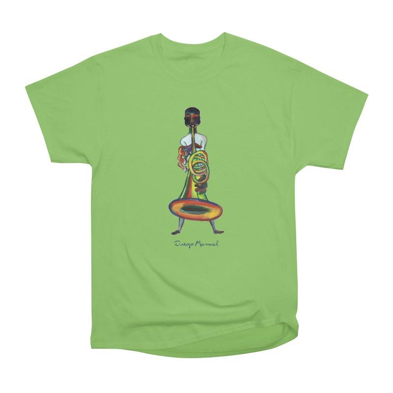 El trompetista Women's Heavyweight Unisex T-Shirt by diegomanuel's Artist Shop