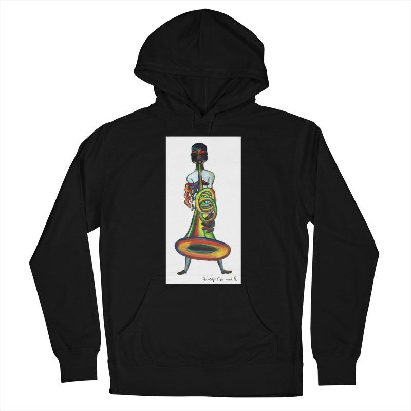 El trompetista Women's Pullover Hoody by diegomanuel's Artist Shop