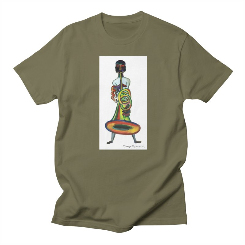 El trompetista Women's Unisex T-Shirt by diegomanuel's Artist Shop