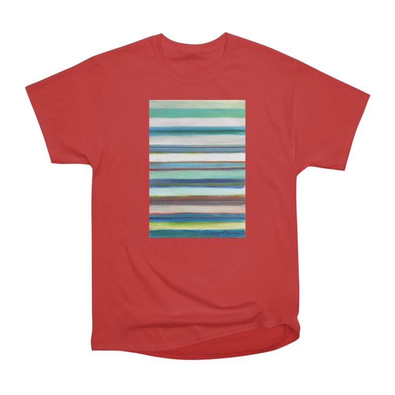 Strips Men's Heavyweight T-Shirt by diegomanuel's Artist Shop