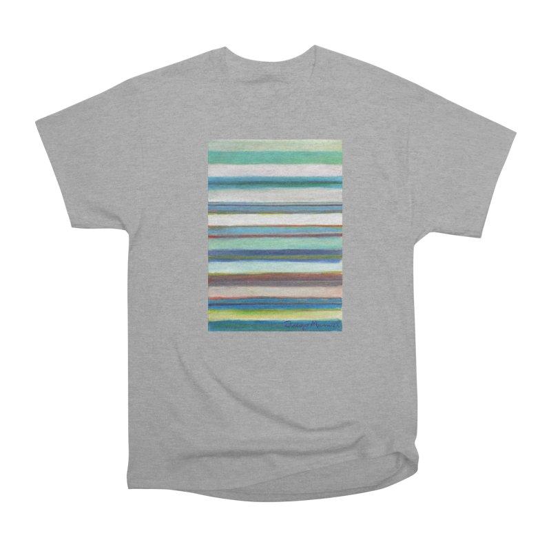 Strips Women's Heavyweight Unisex T-Shirt by diegomanuel's Artist Shop