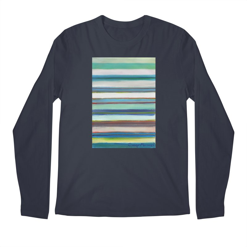 Strips Men's Regular Longsleeve T-Shirt by diegomanuel's Artist Shop