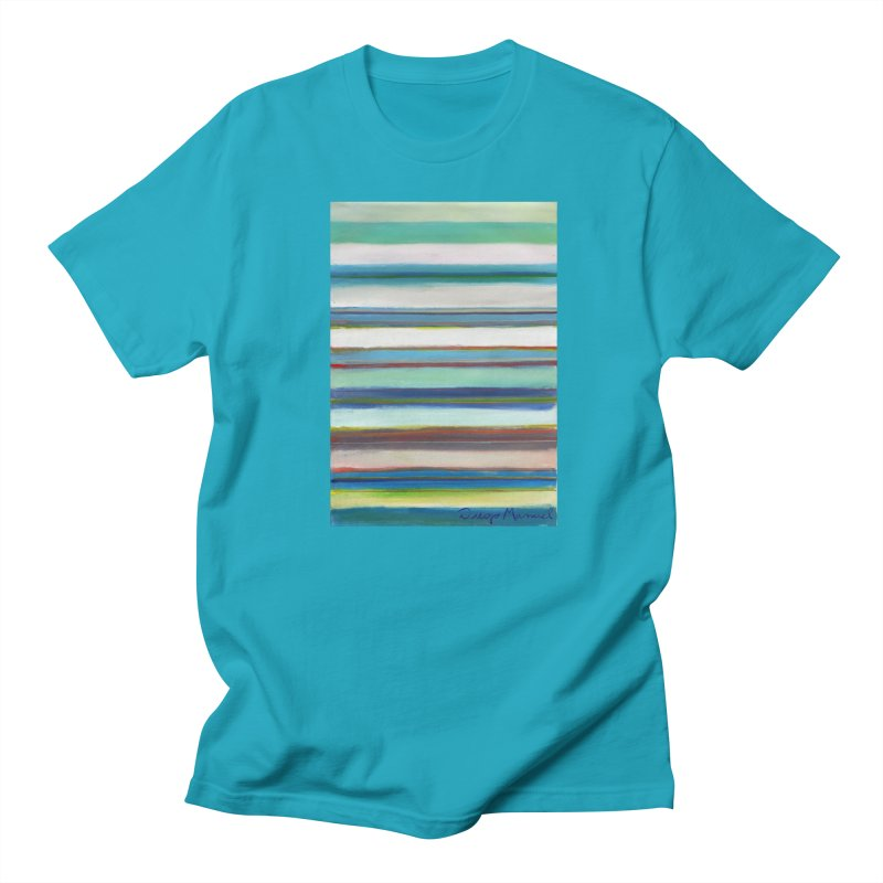 Strips Women's Regular Unisex T-Shirt by diegomanuel's Artist Shop