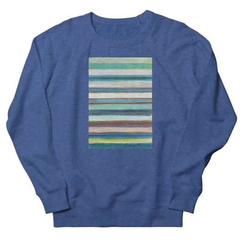 Strips Women's French Terry Sweatshirt by diegomanuel's Artist Shop