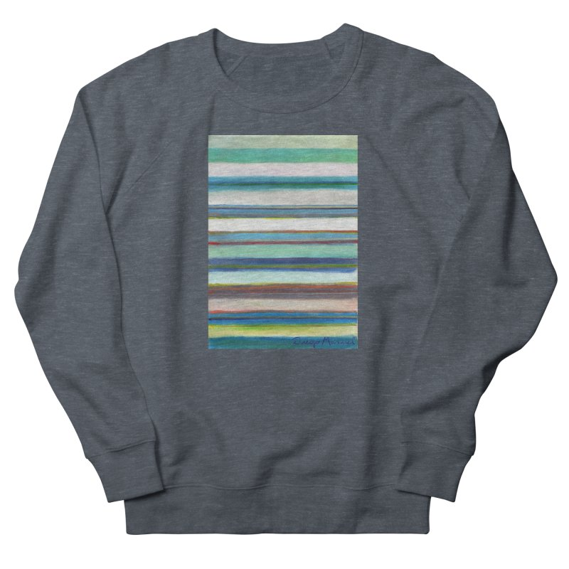 Strips Men's French Terry Sweatshirt by diegomanuel's Artist Shop