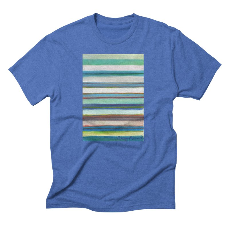 Strips Men's Triblend T-Shirt by diegomanuel's Artist Shop