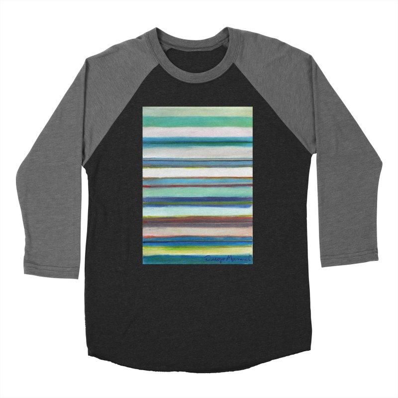 Strips Men's Baseball Triblend Longsleeve T-Shirt by diegomanuel's Artist Shop