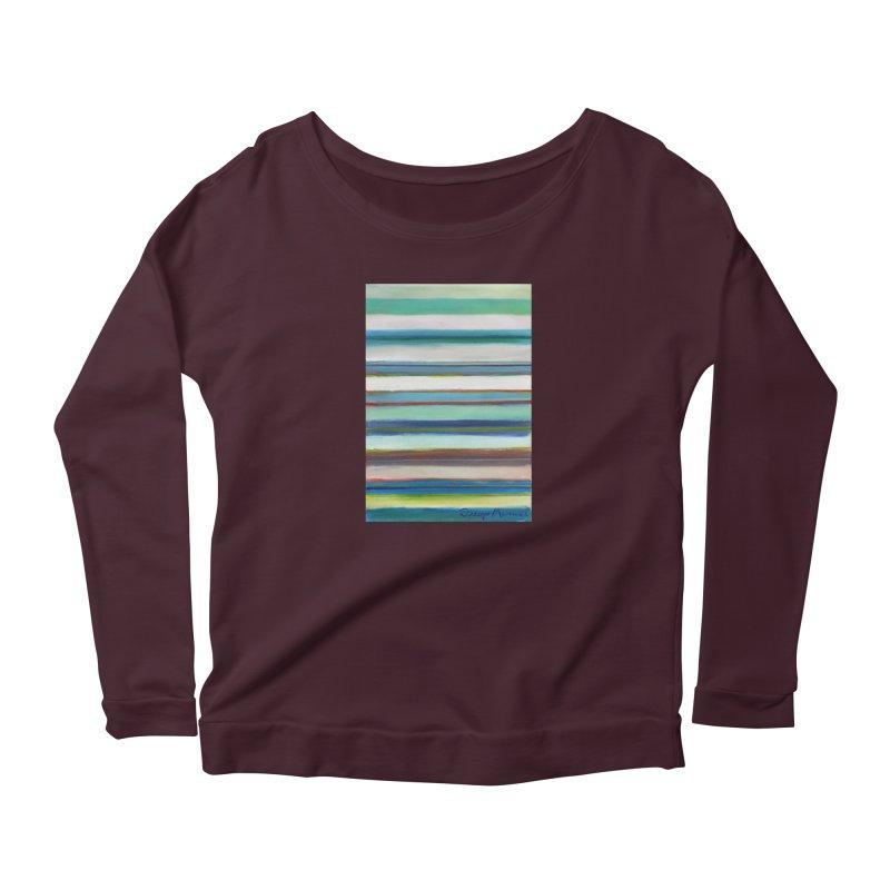 Strips Women's Longsleeve T-Shirt by diegomanuel's Artist Shop