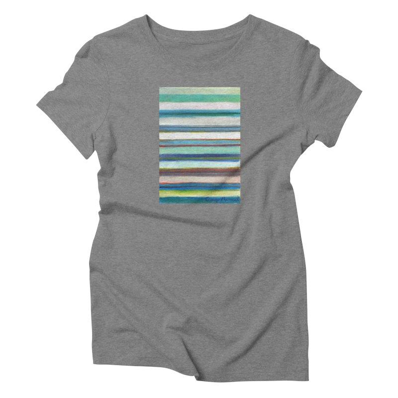 Strips Women's T-Shirt by diegomanuel's Artist Shop