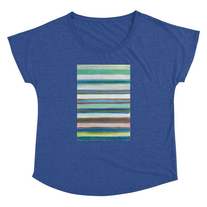 Strips Women's Dolman Scoop Neck by diegomanuel's Artist Shop