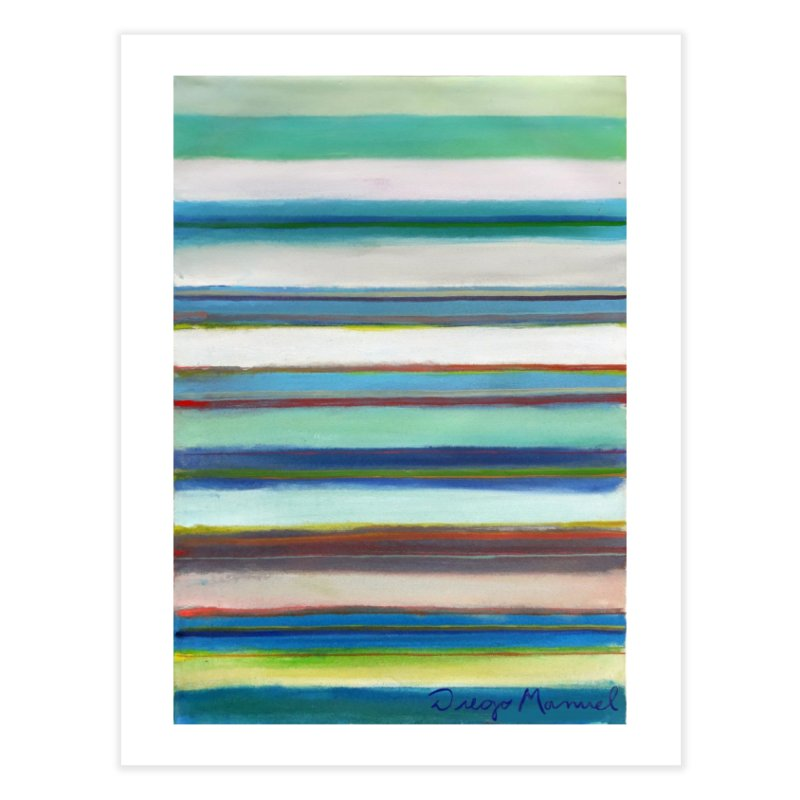 Strips Home Fine Art Print by Diego Manuel Rodriguez Artist Shop