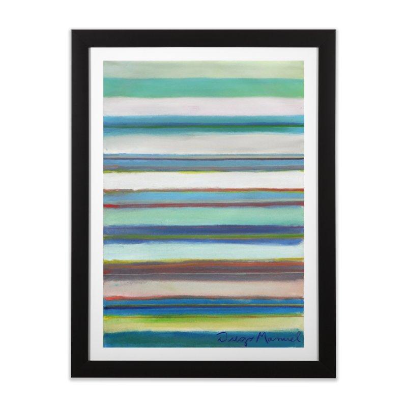 Strips Home Framed Fine Art Print by diegomanuel's Artist Shop