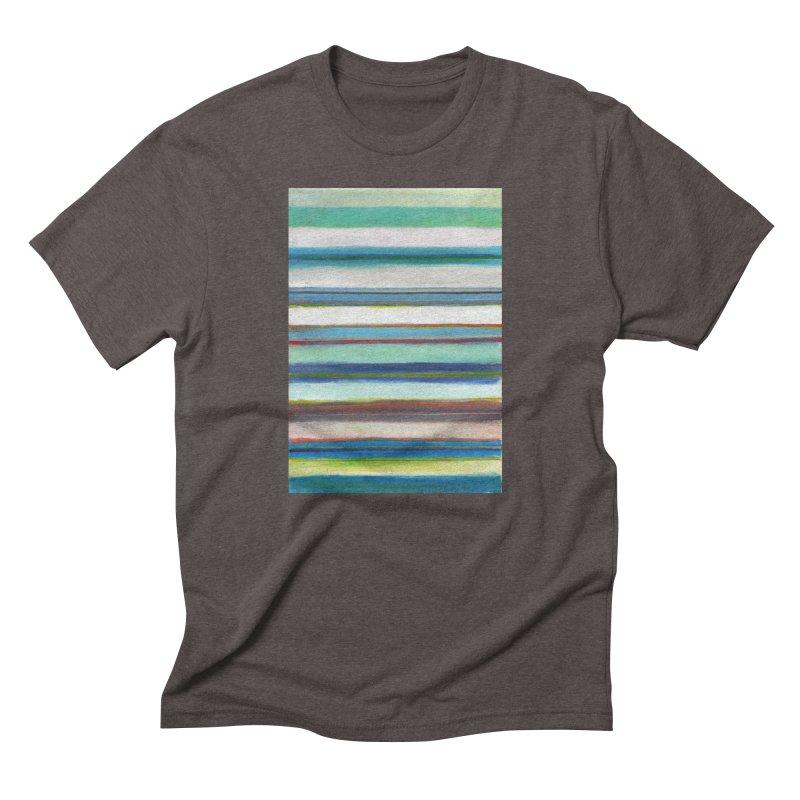 Franjas Men's Triblend T-Shirt by diegomanuel's Artist Shop